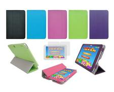 """Folio Cover Case and Screen Protector for Insignia Flex 8"""" NS-P16AT08 Tablet"""