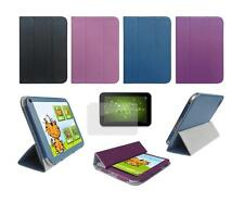Folio Skin Cover Case and Screen Protector for Toshiba Excite AT275 AT270 Tablet