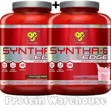 2 x BSN Syntha 6 Edge 48 Servings Whey Protein Powder Shake Fast P&P
