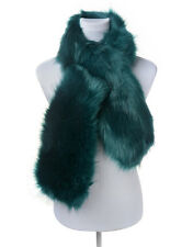 Luxury Soft Faux Fur Large Stole square Wrap Shawl Evening Cover Up New Scarf
