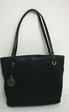 Relic Logo Medium Tote Womens Black Tote Fabric Shoulder Bag