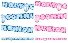 Giant Holy Communion Christian Banner Decoration Party Bunting Garland Fun Home