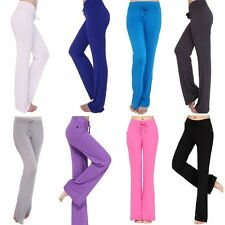 New Womens Plus size Casual Leggings YOGA Pants Sport Workout High Waist Trouser