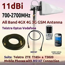 11dBi AllBand 3G 700-2700MHz Aerial for Telstra Smart Touch ZTE T3020 Coax MS147