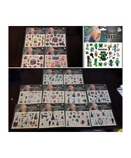 NEW CHARACTER Tattoo Sheets- FROZEN SPIDERMAN PEPPA PIG MINIONS MINE Party Bags