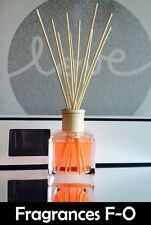 Cubic Reed Diffuser - 150ml (Scents F-O) Highly Scented - Brand New In Gift Box