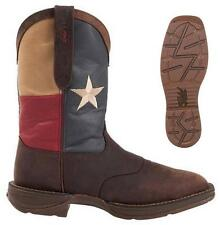 NEW Rebel by Durango Men's Steel Toe Texas Flag Western Cowboy Boots DB021