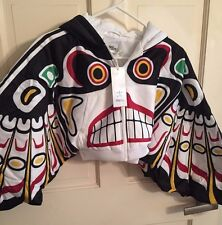 Adidas Originals ObyO Jeremy Scott JS Eagle Wings Totem Hoodie Track Top Coat
