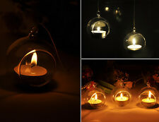 Glass Hanging Ball Tealight Candle Holder Centrepiece Wedding 1/5/10/20PCS