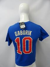 Reebok Hockey NHL New York Rangers 10  Gaborik 85 Anniversary Youth Boys T-Shirt