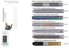 Raymond Van Barneveld World Champion Tungsten Darts Silver, DNA,  Black Gold