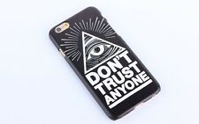 Illuminati All Seeing Eye Apple IPhone Case/Black.Fits Models 5/5c/5s/6/6 plus