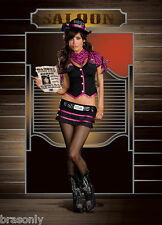 DREAMGIRL 6418 Women's Wanted! Robyn D. Banks Costume reg $74.99 several size