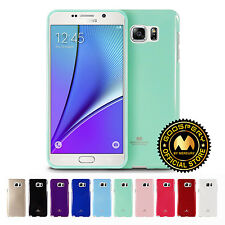 GOOSPERY® Jelly Flexible TPU Bumper Case Cover for Samsung Galaxy Note 4 Note 5