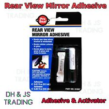 interior rear view mirror glue adhesive kit ebay. Black Bedroom Furniture Sets. Home Design Ideas