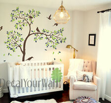 Tree Wall Decal Nursery Large Tree Stickers Living Room Bedroom Kids Room Decor