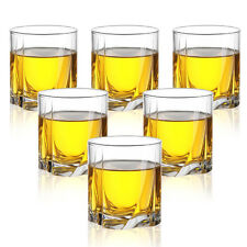 Crystal Old Fashioned Glasses Rocks Glass Shot Glass Whiskey Tumblers 1/6 pcs