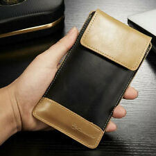Leather Wallet Carry Pouch Sleeve Card Case Holster For Samsung Galaxy Models