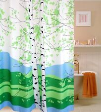 "71"" Cool Colored Landscape Waterproof Bathroom Shower Curtain Fabric Home Decor"