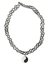 Fad Treasures Yin Yang Choker Necklace