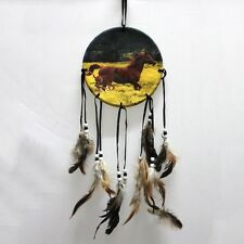 1pcs Art Dream Catcher with Feathers Car or Wall Hanging Decoration Ornament L89