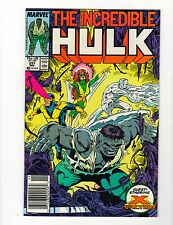 The Incredible Hulk #337 - X-Factor Appearance - 8.5 Very Fine + High Res Scans!