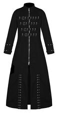 MEN SLAYER GOTHIC PUNK HELLRAISER  VAMPIRE GOTH JACKET TRENCH COAT