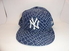 New Era 59 Fifty Authentic MLB NY Yankees Men's Baseball Cap Hat Navy Fitted USA
