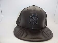New Era 59 Fifty MLB NY Yankees Men's Baseball On Field Cap Hat Fitted Leather
