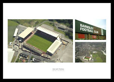 Barnsley FC Oakwell Stadium & Aerial View Photo Memorabilia (BAMU1)
