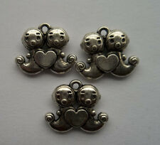 free Shipping 20/50 Pcs Tibet silver Sea lions Charms pendant 14x 17mm