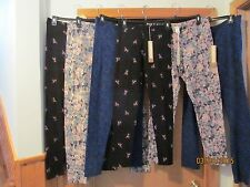 Multi color Leggings LC Lauren Conrad size XL,LG,MD,SM 95% cotton 5% spandex NWT
