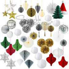 LUXURY HANGING WEDDING/PARTY/CHRISTMAS DECORATIONS - Modern/Large/Festive/Classy