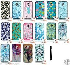 For ZTE Source N9511 Majesty Z796C TPU Rubber Soft Skin Cover Phone Case + Pen