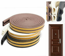 5M E/D/P-type Foam Draught Self Adhesive Window Door Excluder Rubber Seal Strip