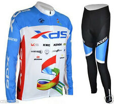 New Men's Cycling Bike Long Sleeve Clothing Bicycle Sports Wear Set Jersey Pants