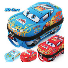 New Gift Disney Pixar 3D Lightning McQueen 95 Cars School Bag for Child Backpack