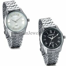Fashion Stainless Steel Men's Casual Sport Analog Quartz Wrist Watch Xmas Gift