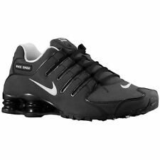 NEW NIKE MENS SHOX NZ SL  Running Shoes Black/White 366363-009 **