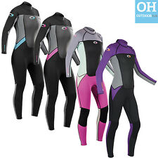 Osprey Origin Womens 3/2mm Neoprene Wetsuit Full Length 3mm Ladies Surf Kayak