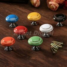 Retro Round Cabinet Knobs Cabinet Drawer Cupboard Door Knobs Kitchen Pull Handle