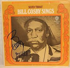 "BILL COSBY Signed Autographed ""Silver Throat"" Album LP JSA #K96296"