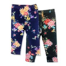 Girls/Kids Floral Print Leggings Trousers Ages 3-12 Years