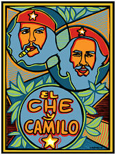 680. Che&Camilo Political Wall Art Decor POSTER.Graphics to decorate home office