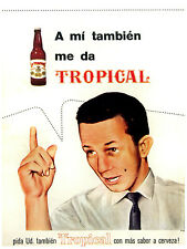 86. Art Decoration POSTER.Graphics to decorate home office.Tropical beer Ad Art.