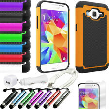 Shockproof Hybrid Hard Case Cover For Samsung Galaxy Core Prime Prevail LTE G360