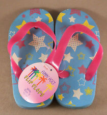 Funny Feet Girls Flip Flops Slippers Sandals Shoes New With Tags Size: S