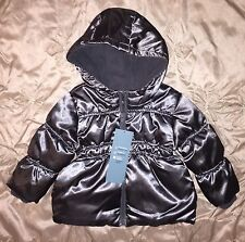 NWT Old Navy Baby Girl Winter Coat Jacket Puffy Fleece-lined 12-18M 18-24M