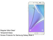 For Samsung Galaxy Note 5 Ultra Clear/Tempered Glass screen protector