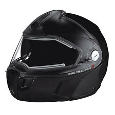 2016 Ski-Doo BRP Snowmobile Modular 3 Helmet Electric Heated Shield Black M-2XL